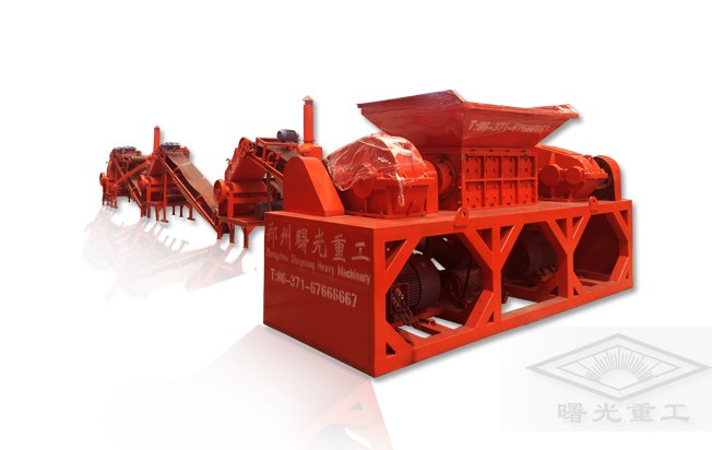 Tyre Recycling Machine Line