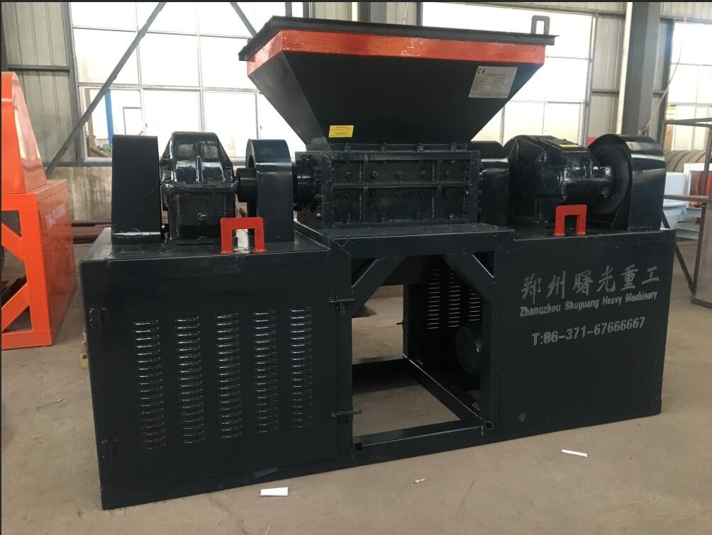 Safe operation of metal shredder equipment in use